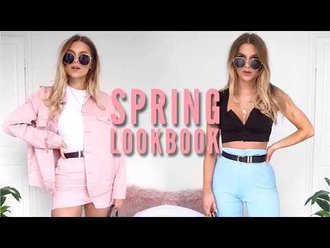 Spring Outfit Ideas / Lookbook 2018 | Fashion Influx