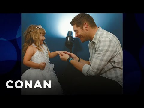 A 5YearOld Proposed To Jensen Ackles   CONAN on TBS