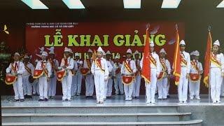 lễ khai giảng trường thcs cầu giấy 2014