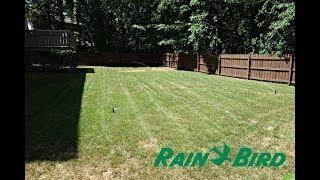 Rain Bird Sprinkler System Update after 1 year of Installation and Use