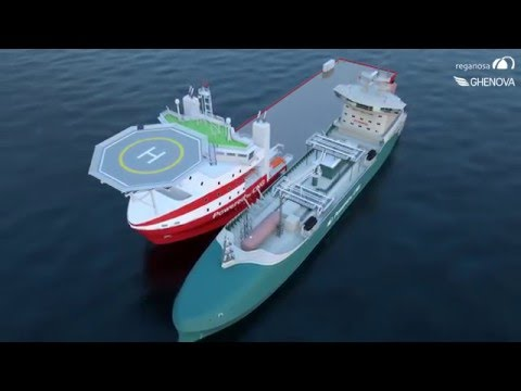Reganosa's 10.000 m3-LNG supply vessel designed by GHENOVA