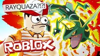 Roblox Adventures / Project Pokemon / RAYQUAZA HUNT!