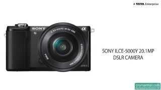 Sony ILCE-5000Y 20.1 MP DSLR Camera