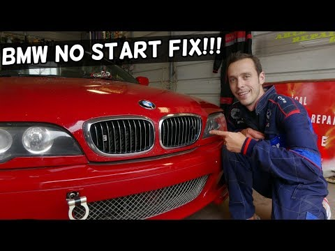 BMW CRANKS BUT WONT START 3 Series, 5 Series, X3 X5 Z3 Z4