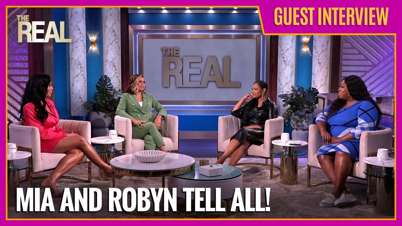 Download [FULL] 'The Real Housewives of Potomac' Mia Thornton & Robyn Dixon: 'We Can't Compete With Atlanta'