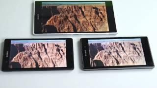Sony Xperia Z, Z1 und Z Ultra - der ultimative Vergleich