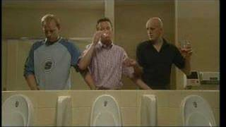 what do men do in the toilet