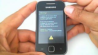 Stock Rom Firmware Samsung Galaxy Y GT-S5360B, como instalar, restaurar, recuperar