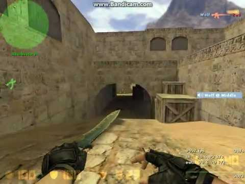 Counter Strike 1.6 De_Dust2 With Expert Bots Gameplay