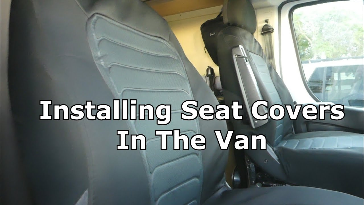 Installing Seat Covers on My Promaster Van