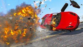 GTA 5 Car Explosion   BEST OF OCTOBER 2018