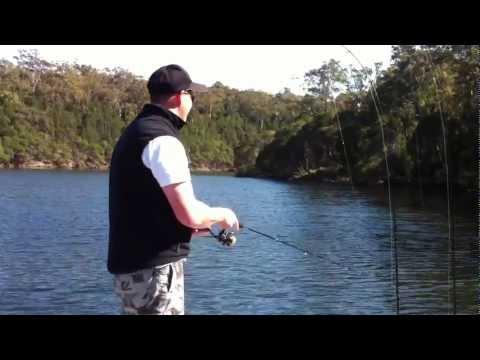 Flathead Soft Plastic Fishing Wonboyn River