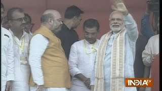 LIVE: Watch PM Modi Full Speech at Gaya Rally in Bihar - India TV