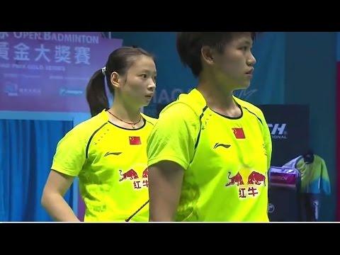 |F| Match 2 Macau Open Badminton Championships 2014