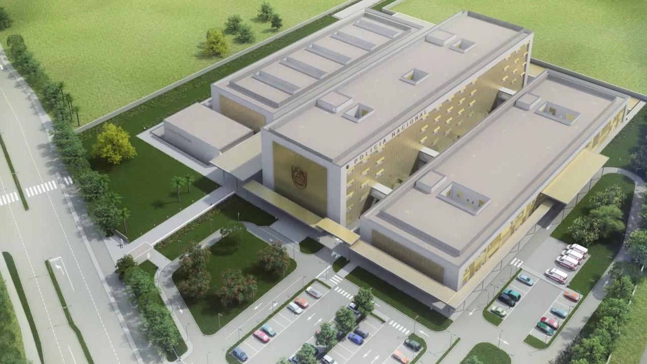 arquitectura hospitalaria hospital roberto huembes