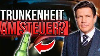 Alkohol am Steuer 🍺 - Was droht mir bei Trunkenheit im Verkehr?