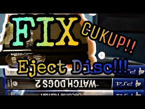 Cara Mengatasi Eject Disc pada PS4 Fat