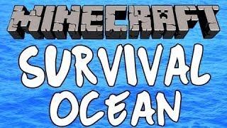 Minecraft-Supravietuire pe ocean ep.1 Singur pe apa