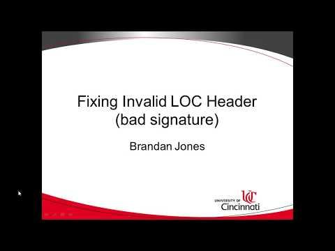 Fix Invalid Loc Handler Bad Signature Maven Eclipse Tomcat