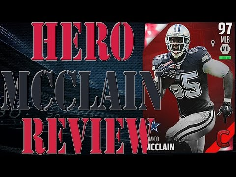Campus Hero Rolando Mcclain Review | Player Review | Madden 16 Ultimate Team Gameplay | MUT 16