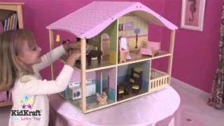 Kidkraft Pastel Swivel Dollhouse 65260 Wooden Dolls House At Http://wooden-toys-direct.co.uk