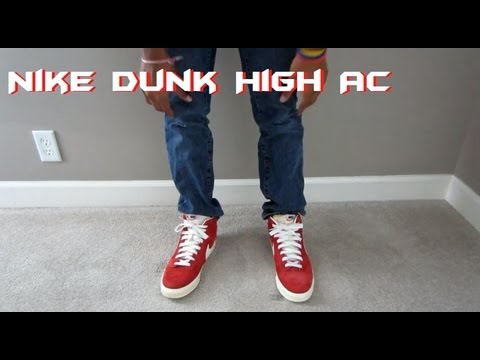 sports shoes e274e 7b56c Nike Dunk Hi AC Vintage Review + On Foot View