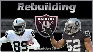 Madden 19 Rebuild   Oakland Raiders: Stealing the #1 Ranked Rookie