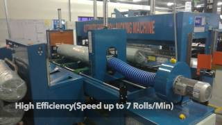 Suntech Fabric Roll Packing Machine