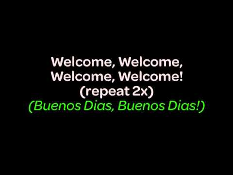 The International Welcome Song