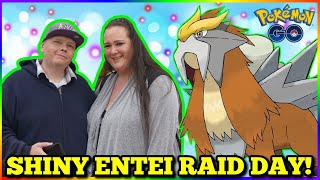 🚨 LiVE 🚨 Shiny Entei Event  ✨  🎟 Pokemon Go in NYC!