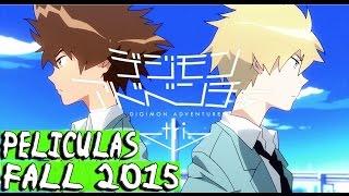 Estrenos Peliculas Anime Otoño 2015