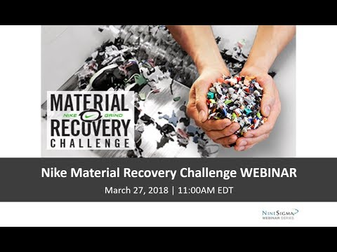 Nike Material Recovery Challenge Webinar