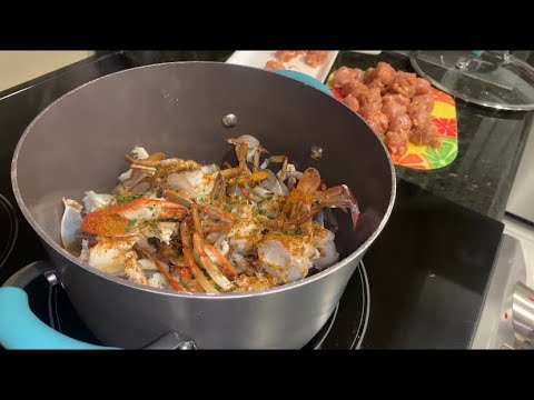 Cleaning and Cooking Blue Crabs