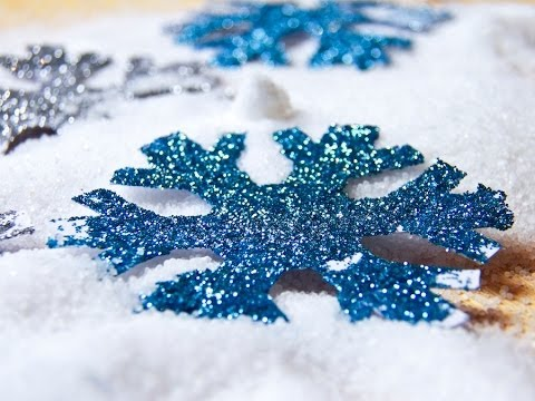 Fiocchi Di Neve Di Carta Da Ritagliare Tutorial : Costume frozen fiocchi di neve fai da te youtube