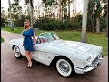 1961 Chevrolet Corvette Convertible, 69k miles, V8 327 engine, same owner for 30 years, collectible