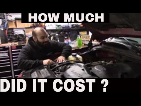 How much did my engine rebuild cost?