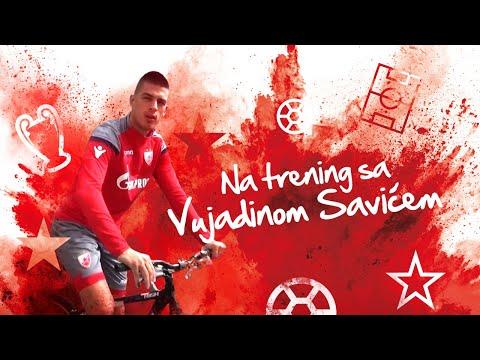 NA TRENING SA Vujadinom Savićem