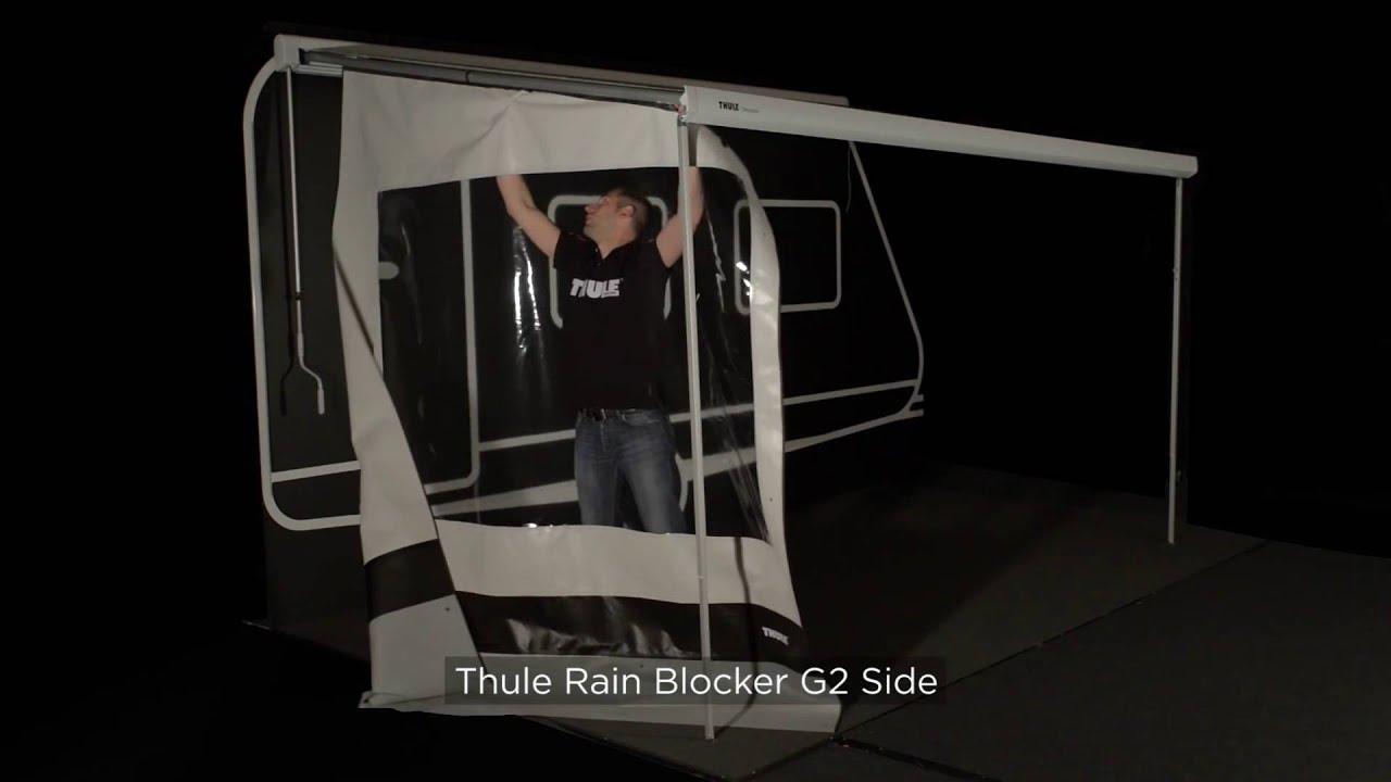 Montage Der Thule Smartpanels An Die Markise Youtube