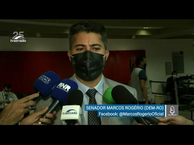 CPI da Pandemia – Senador Marcos Rogério fala sobre os trabalhos da comissão - 27/5/2021