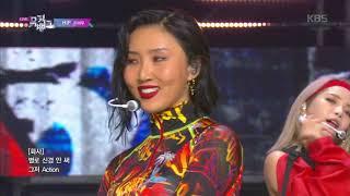 HIP - 마마무(MAMAMOO) [뮤직뱅크 Music Bank] 20191122