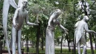 видео Скульптурная композиция «А. П. Чехов»