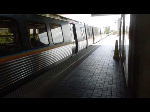 MARTA: Doraville bound Gold Line train at Garnett