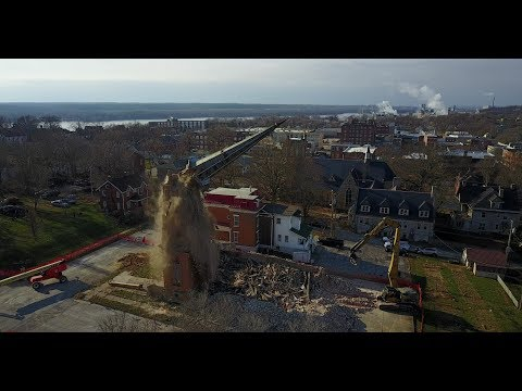 2017-12-13 through 2017-12-28 - Demolition of Unitarian Church - 4K