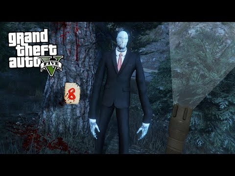 GTA 5 Mods - ULTIMATE SLENDER MAN MOD!! GTA 5 Slender Man Mod Gameplay! (GTA 5 Mods Gameplay)
