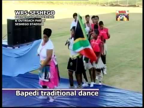 Bapedi traditional dance:  Seshego partnership Conference