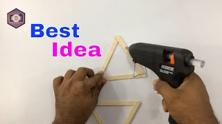 How to make wall hanging craft ideas / AWESOME DIY WALL DECOR IDEAS / Woolen Crafts Ideas