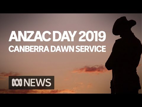 Anzac Day Dawn Service From The Australian War Memorial In Canberra | ABC News