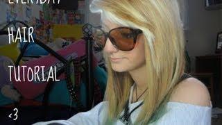 everyday hair tutorial :P Thumbnail