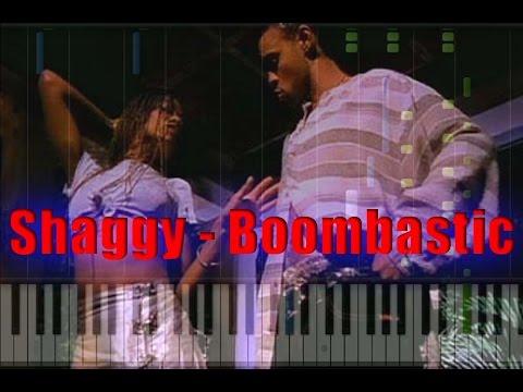 Shaggy  Boombastic Piano  Synthesia Piano Tutorial