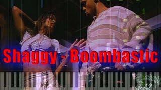 Shaggy - Boombastic Piano Cover [Synthesia Piano Tutorial]